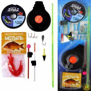 Зимняя рыбалка вместе с Woodl**D — Наборы для зимней рыбалки — Все для рыбалки