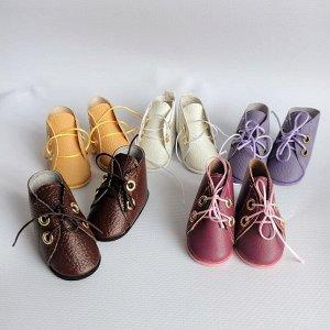 Ботинки на шнурках для Паола Рейна и аналогичных кукол ростом 32-35 см