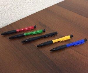 Ручка шариковая автоматическая, ассорти, 105