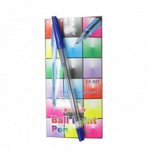 Ручка шариковая, синяя, CF-927, 927-2