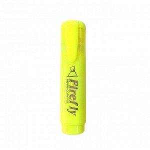 Текстовыделитель Firefly, (желтый), 505-2