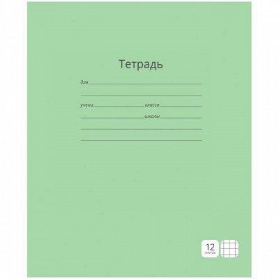 Бюджетная канцелярия для всех — Тетради 12-24 листов — Школьные принадлежности