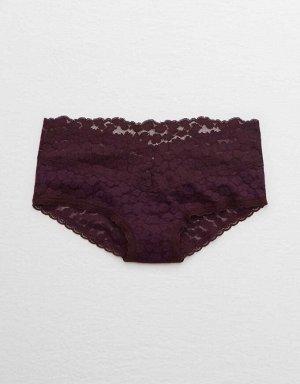 Aerie Animal Lace Boybrief Underwear