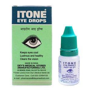 "Itone Eye Drops Dey's Medical Stires (Manufacturing) LTD ""Айтон"" лосьон для глаз 10мл"