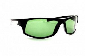 Мужские солнцезащитные очки спорт - 6866 G1 черный темно-зеленый