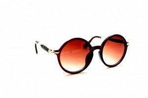 Солнце женские 2020 - Keluona 578 коричневый глянец