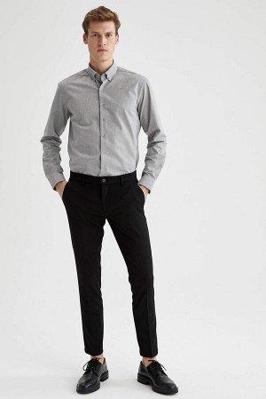 брюки Размеры модели: рост: 1,88 грудь: 98 талия: 82 бедра: 95 Надет размер: размер 32 - рост 32 Elastan 3%, Вискоз 33%, Полиэстер 64%