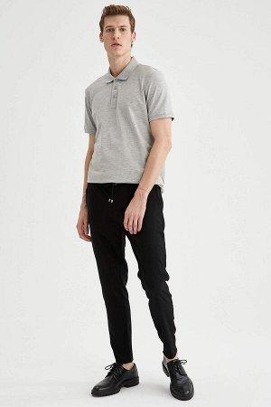 брюки Размеры модели: рост: 1,88 грудь: 98 талия: 82 бедра: 95 Надет размер: размер 30 - рост 32 Elastan 2%, Вискоз 33%, Полиэстер 65%
