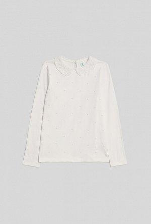 Блузка детская для девочек Sheker белый