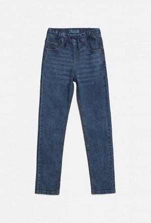 Брюки джинсовые детские для мальчиков Leshiy темно-синий
