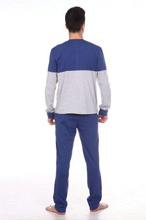 """Баритон Костюм """"Баритон"""". Трикотаж - Кулирка. Хлопок 100%. Размеры 46, 48, 58, 60, 62, 64Костюм состоит из джемпера и брюк. Джемпер свободного покроя с длинным рукавом. Кокетки на полочке и"""