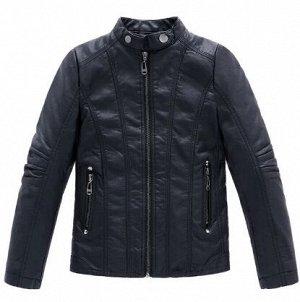 Куртка Куртка из Искусственной кожи с воротником-стойкой