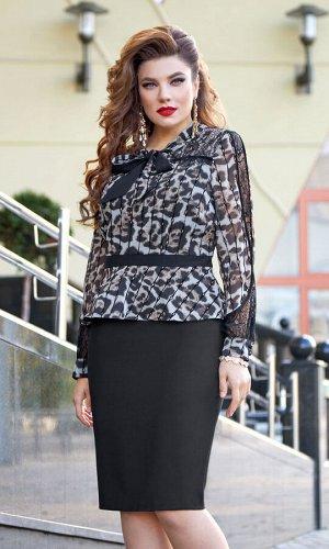 Платье Платье Vittoria Queen 12993  Состав ткани: ПЭ-100%;  Рост: 164 см.  СМОТРЕТЬ ВИДЕО  Утонченное и эффектное платье не оставит никого равнодушным! Элегантное, стильное, с леопардовым принтом, ко