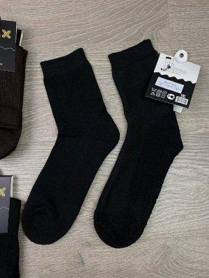 Мужские носки с махровой подошвой