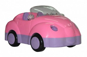 Автомобиль для девочек Улыбка, пакет 21см