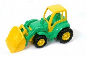 """Трактор """"Чемпион"""" с ковшом, в сет. 48 см"""