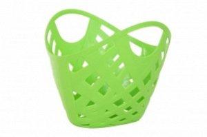 Корзинка плетеная зеленая  тм Нордпласт