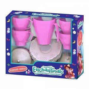 Подарочный набор детской посудки Энчантималс (24 шт в кор. с окошком), 26*21*9см