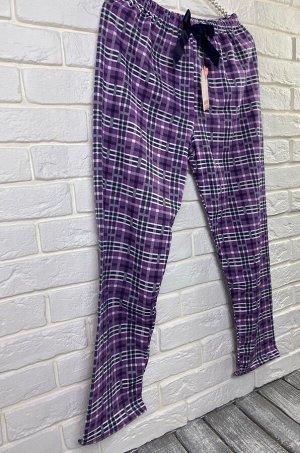 Домашние брюки (с тонким флисом)