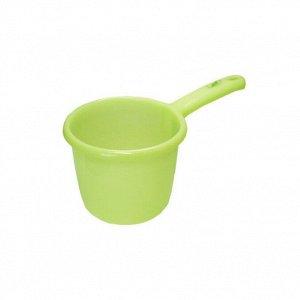 Ковш зеленый размер 14.6×26.5×13. 9 см 1,3л