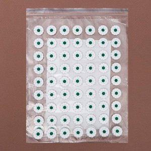 Аппликатор - коврик, 23 * 32 см, 70 модулей, цвет белый/зелёный