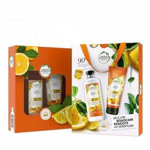 Подарочный набор Herbal Essences Шампунь 400 мл + Бальзам Белый грейпфрут и мята 180 мл