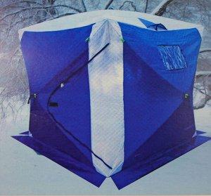 Палатка зимняя Travel Top Куб (180х180, h195см, утепленная, с колышками)