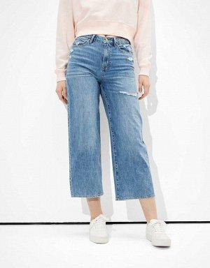 AE Wide Leg Crop Jean