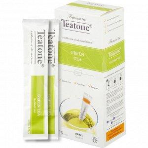 Зеленый чай TEATONE 15стик*1.8г