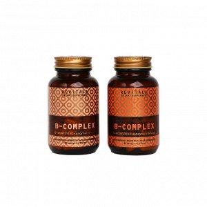 Revitall B-Complex, 2 упаковки по 60 капсул