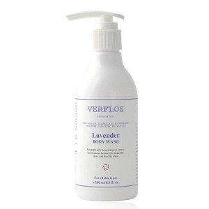 Гель для душа с экстрактами герани и лаванды VERFLOS Lavender & Geranium Body Wash 250 мл