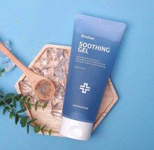 Успокаивающий гель для лица с экстрактом алоэ вера MOMOSOW Azuloe Soothing Gel 200 мл