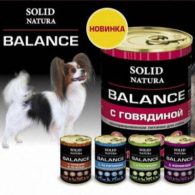 Премиум корма + Наполнители, смываемые в унитаз! — Solid Natura — Для собак