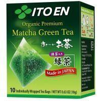 ITOEN Matcha Green Tea Organic Premium Органический премиум чай 10пак. 18 гр.1*10 шт. Арт-98900