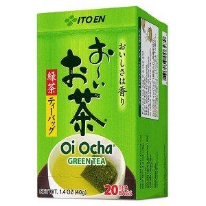 ITOEN OI Ocha Чай, Классический пакетированный зеленый чай, 20 пак., 40 гр, 1*20 шт. Арт-06479