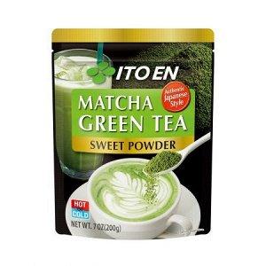 ITOEN Чай, MATCHA GREEN TEA, зеленый чай, порошок 200 г 1*6 шт. Арт-13347