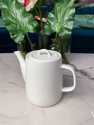 Заварочный чайник, 1,2 литра, фарфор, в наличии