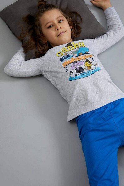 DEFACTO - детская коллекция.Распродажа в каждой коллекции    — Мальчики 3-14лет Костюм домашний/пижамный — Одежда для дома