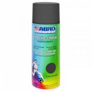 Грунт-аэрозоль ABRO Masters Серый, аэроз. 272мл / 226гр (1/12)