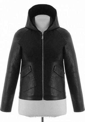 Куртка из PU-кожи LM-622