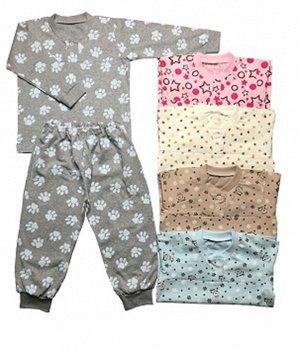 Пижама Материал: Кулирная гладь. Цвет: Цвет в ассортименте Пижама