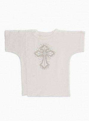 Рубашка Материал: Кулирная гладь. Цвет: Экрю Рубашка