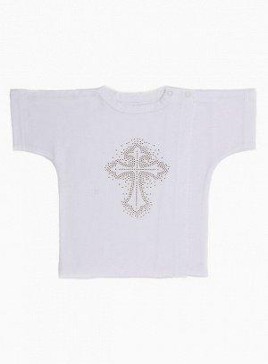 Рубашка Материал: Кулирная гладь. Цвет: Белый Рубашка