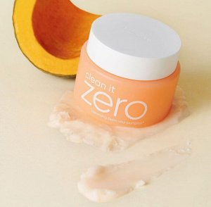 Banila Co. Clean It Zero Cleansing Balm Vita-Pumpkin Очищающий бальзам с экстрактом тыквы 100 мл., ,