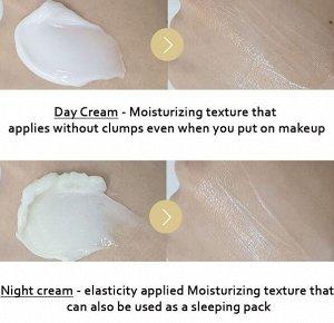 Крем 2 в 1  для дневного и ночного ухода за лицом Double Care Mela Vita Cream Day / Night