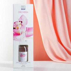 Ароматический диффузор с палочками Цветок орхидеи Orchid, 125 мл