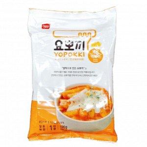 Рисовые клецки с сырным соусом 120г