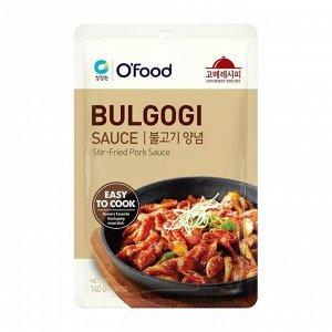 """Соус-маринад для свинины """"Bulgogi Sauce. Stir-fried Pork Sauce"""" 140 г"""