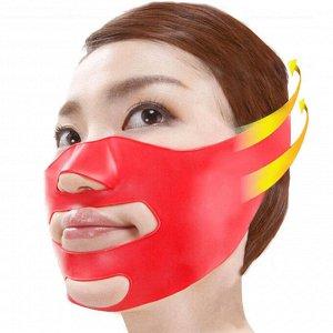 Маска бандаж для подтяжки лица с 3д лифтинг эффектом
