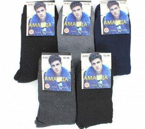 Мужские носки тёплые Аманда A007